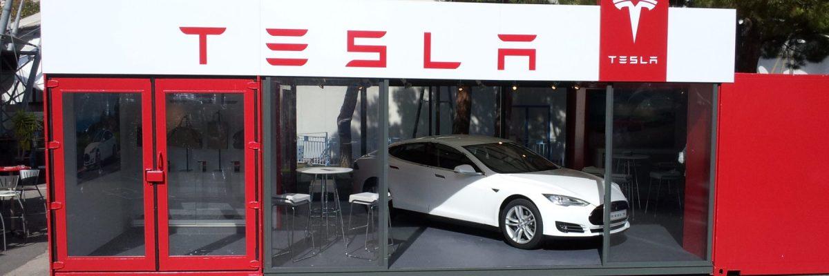 Tesla popup in Morocco