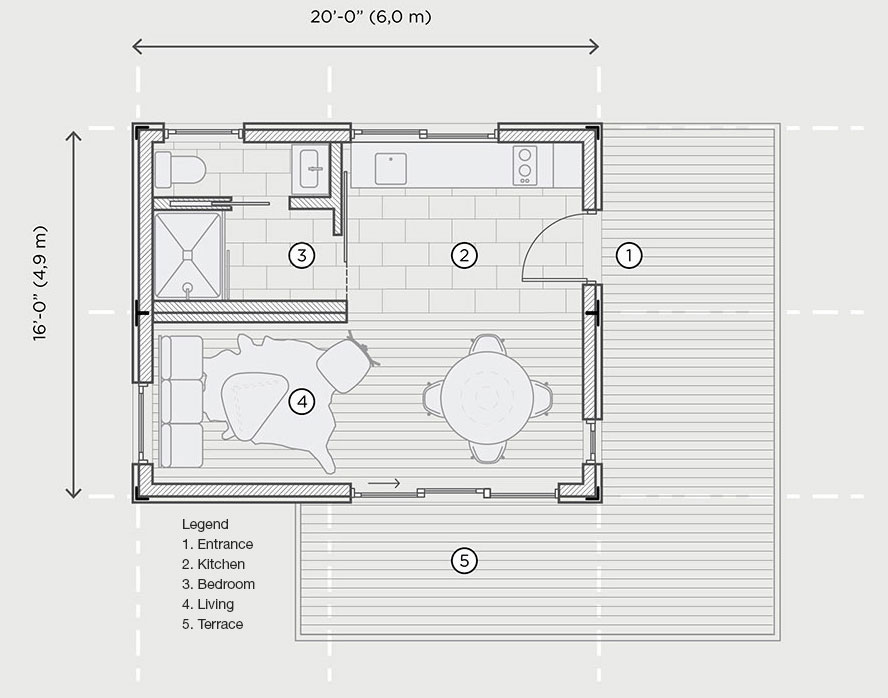 ALP320 floorplan