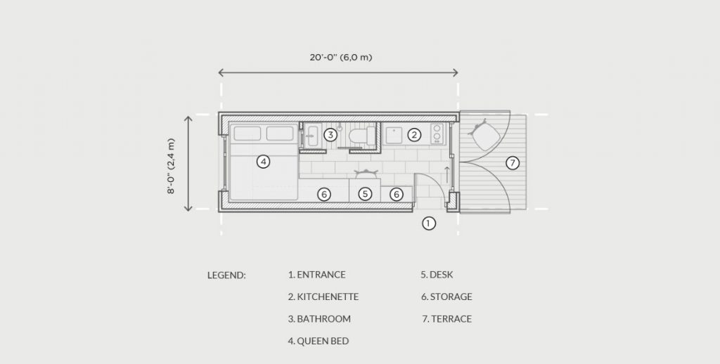 Micro 200 floor plan