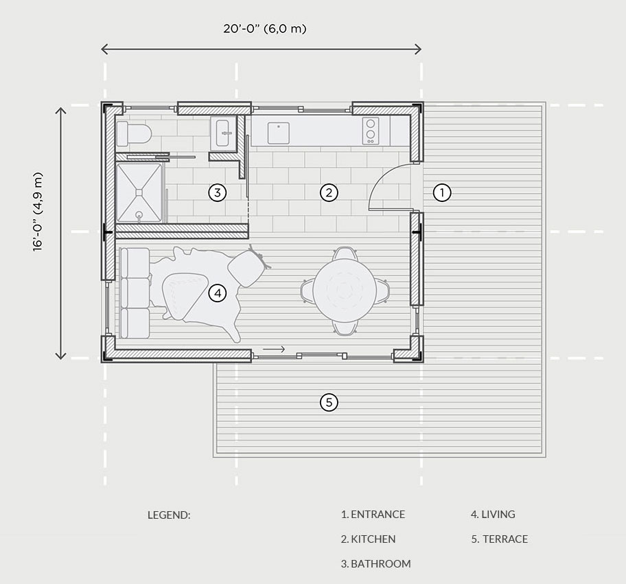 ALP 320 Floor Plan